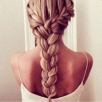 25+ best ideas about Thick braid on Pinterest   Braids ...