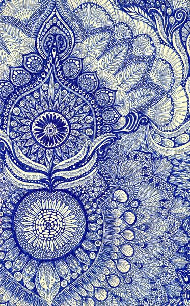 Elaborate detailed Indian textile /