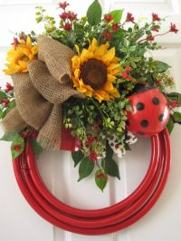 25+ best Summer Door Wreaths ideas on Pinterest