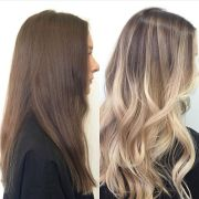 ideas blonde highlights