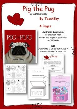 Book Activity Pig The Pug Teaching Resource Activities