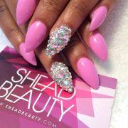 1000 ideas barbie pink nails