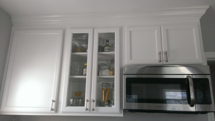 unfinished kitchen cabinet doors hansgrohe faucets glass cabinet, white cabinets with crown molding   our ...