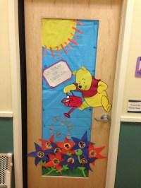 Classroom Winnie the Pooh door. | Classroom Themes ...