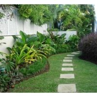 Tropical Landscape Fence Design Ideas | client's #1 ...