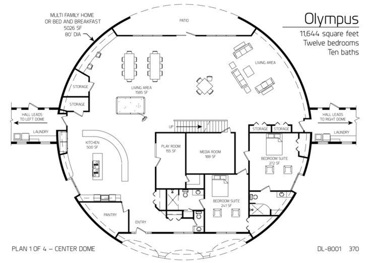 Best Of Underground Homes Floor Plans