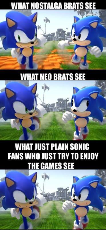 Sonic Hedgehog Meme