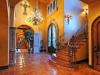Decorating with Mexican Talavera Tile | Foyer staircase ...