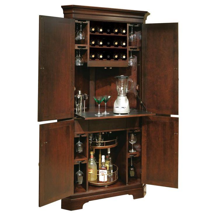 25+ best ideas about Corner liquor cabinet on Pinterest