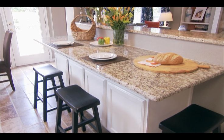Kitchen Island Attached To Bar Half Wall House And Home