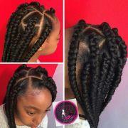 ideas box braids