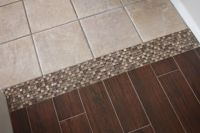 Tile to Tile Transition using a mosaic. New tile is ...