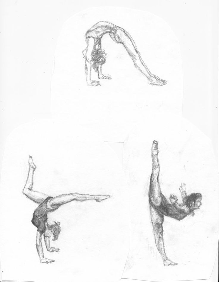 26 best images about gymnastics drawing on Pinterest