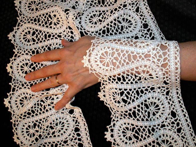 russian lace crochet scarf diagram guitar wiring builder 17 best images about bruges on pinterest | the ribbon, and