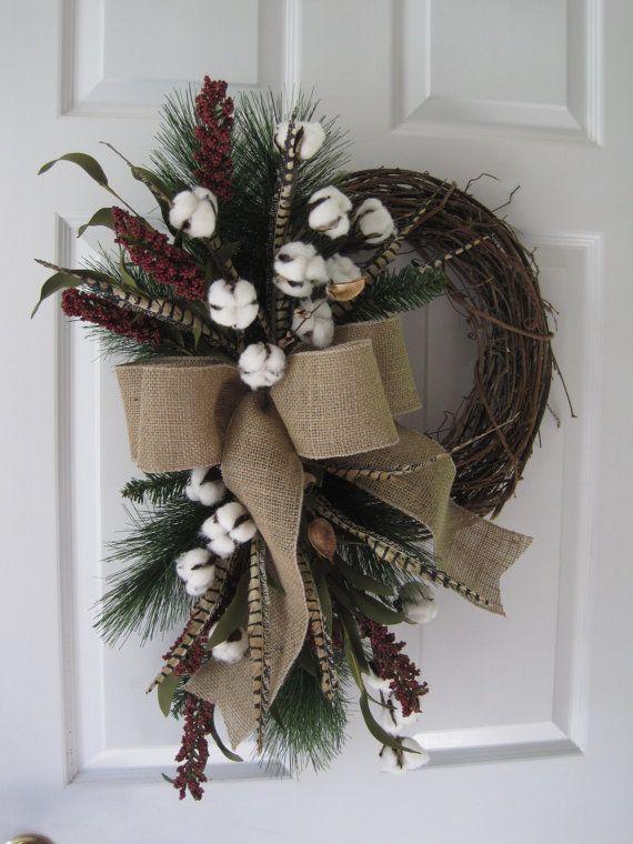 25 Best Ideas About Cotton Wreath On Pinterest Cotton