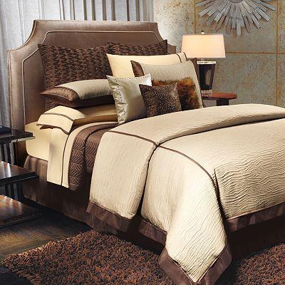Jennifer Lopez bedding collection Sand Drift Bedding Coordinates Neutral bedding that goes well