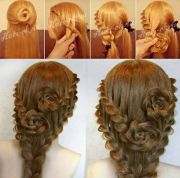 ideas rose hairstyle