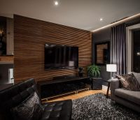 25+ best ideas about Wood slat wall on Pinterest