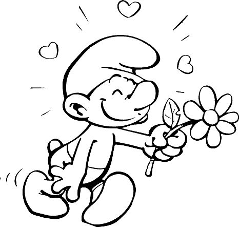19 best Smurf coloring pages images on Pinterest