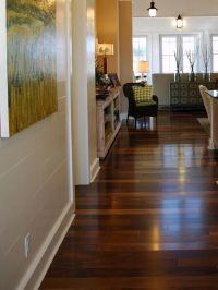 I love the color variation in this Dark Hardwood Floor ...