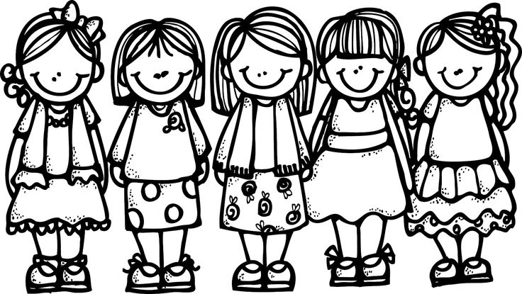 951 best images about clipart girls on Pinterest