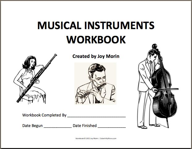 This free 29-page workbook contains coloring pages and