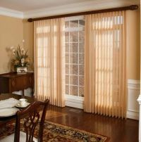 verticle blind sheer | ... vertical blinds with beautiful ...