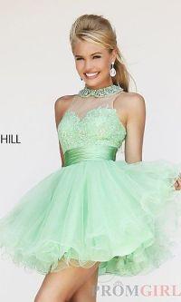 Sherri hill, Babydoll dress and Dresses on Pinterest