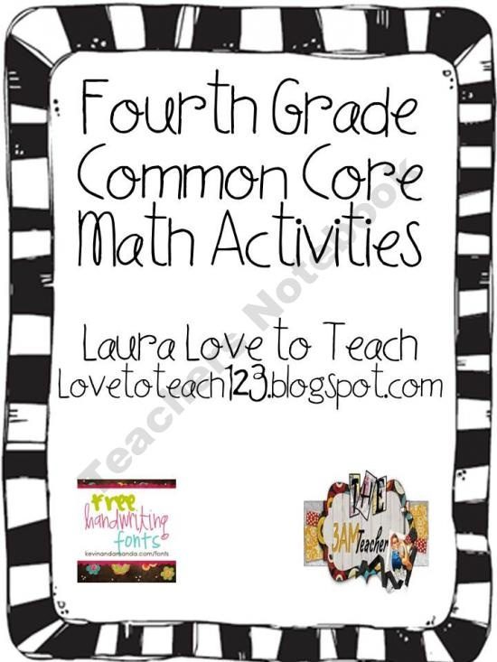 33 best images about Common Core 4th Grade on Pinterest