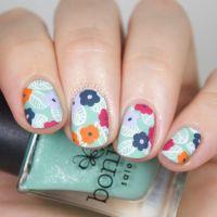 Best 25+ Floral nail art ideas on Pinterest | Spring nails ...