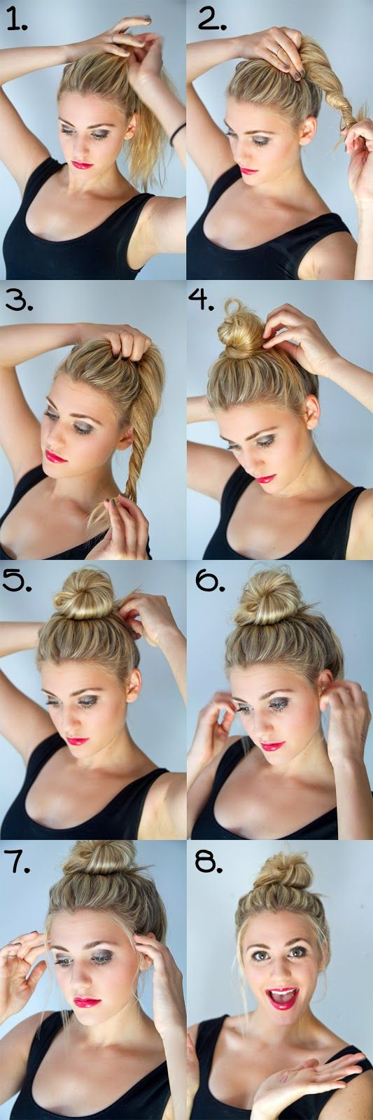 25 Best Ideas About Top Knot Hair On Pinterest Top Knot Cool