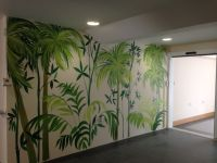 1000+ images about Hand Painted jungle wall murals on ...