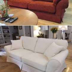 White Denim Sofa Covers Knoll Leather Best 20+ Couch Slip Ideas On Pinterest | Slipcovers ...