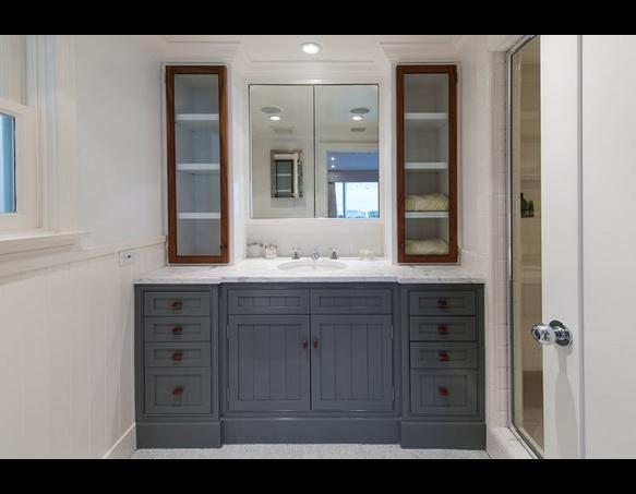 kitchen cabinet islands corner hutch judd apatow & leslie mann malibu beach house | toofab ...