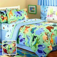 wild-animals-jungle-safari-bedding-full-hugger-bunk-bed ...