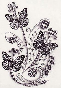 5149 best images about zentangle time on Pinterest