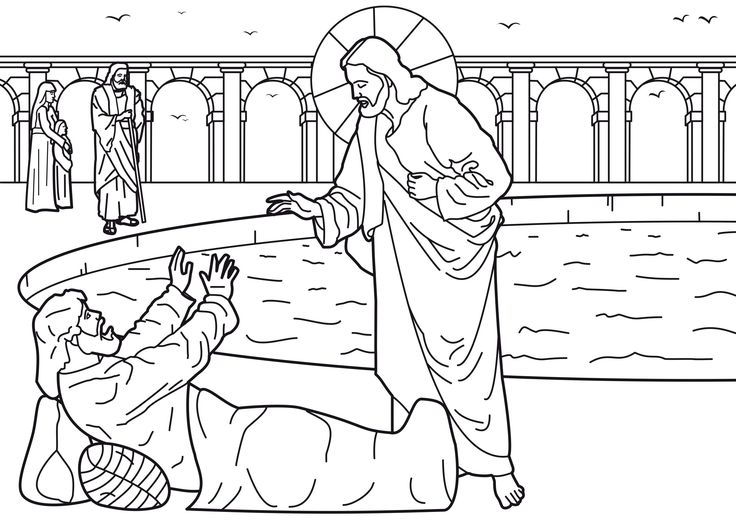 9 best images about JESUS HEALS THE MAN AT THE POOL !!! on