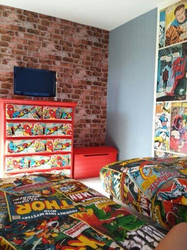 25 best ideas about Marvel boys bedroom on Pinterest