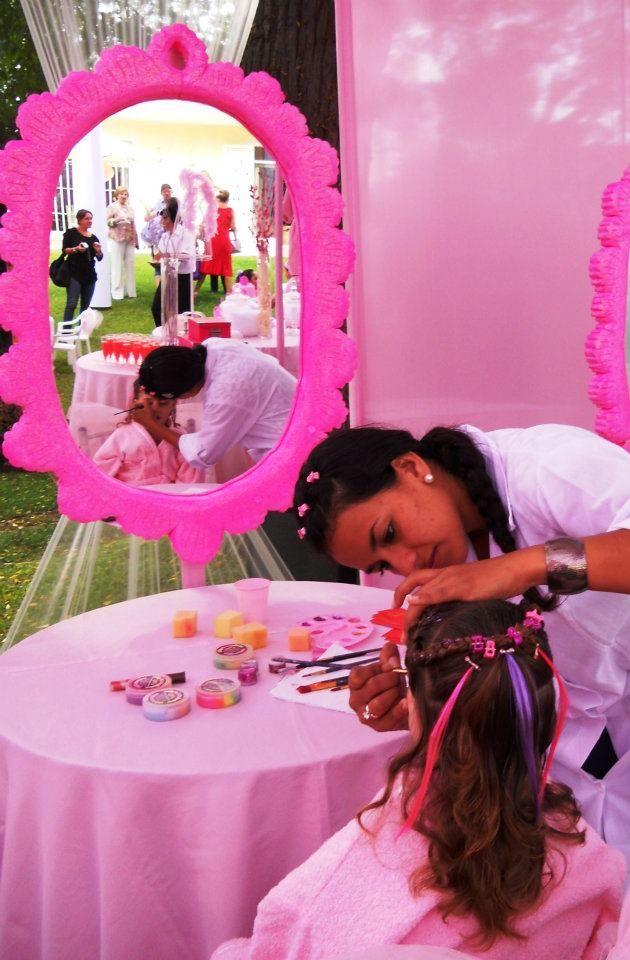 FIESTA INFANTIL SOLO PARA NIAS Con SALON DE BELLEZA Y SPA Eventos Pinterest Fiestas Spas