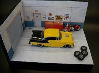 Car Garage Diorama. Click on link for free templates and ...