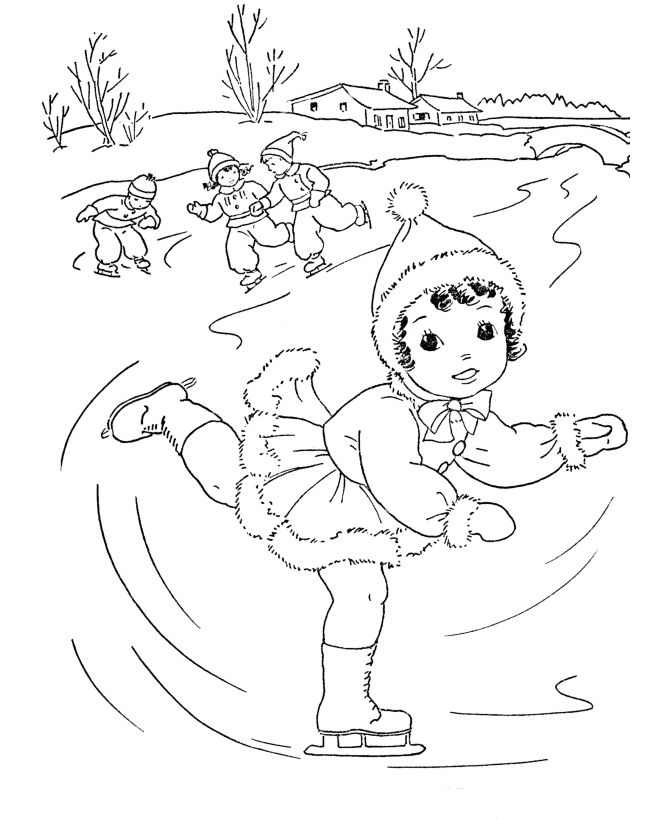 20 best images about Seasons of the Year Coloring Pages on