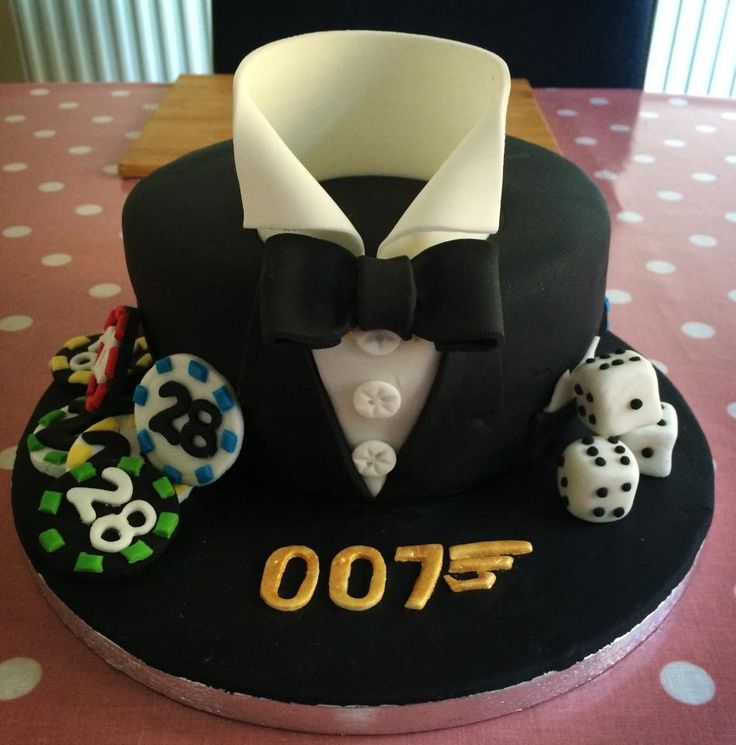 James Bond Cake Bday Pinterest Cakes James Bond