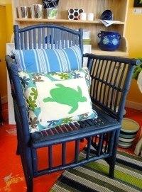 20 best images about Painted rattan on Pinterest