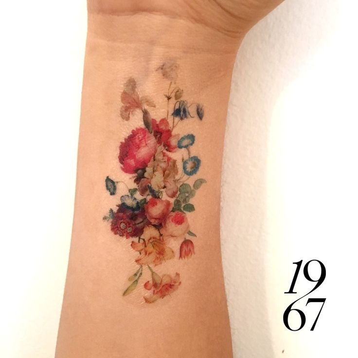 25+ Best Vintage Flower Tattoo Ideas On Pinterest