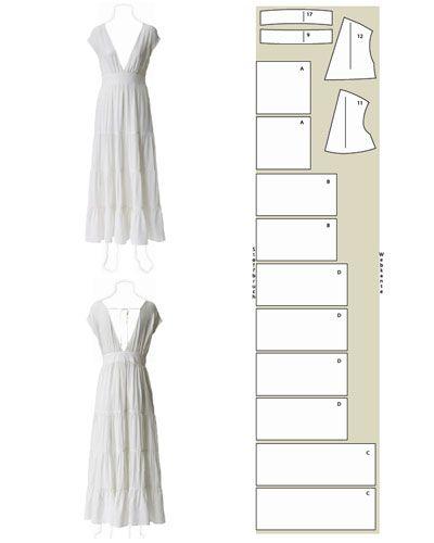 Die 25 Besten Ideen Zu Hochzeitskleid Selber Nähen Auf Pinterest