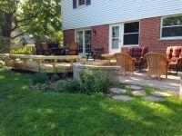 Combination Deck and Patio Design in Hoffman Estates, IL ...
