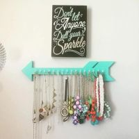25+ best ideas about Necklace holder on Pinterest | Diy ...