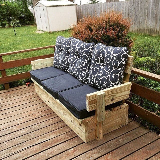 17 ideas about Homemade Outdoor Furniture on Pinterest