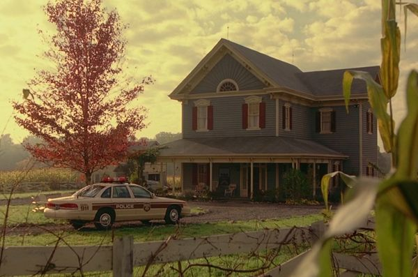Farmhouse in the movie Signsdream home  Home Sweet
