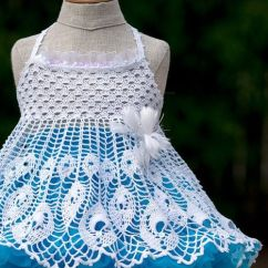 Daisy Tunic Diagram 7 Pin Trailer Plug Wiring Australia 1000+ Images About Little Girls Crochet Dress On Pinterest